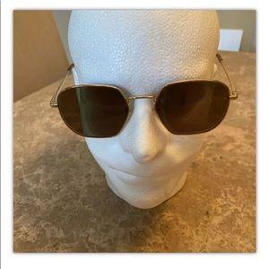 Tom's Men's Sawyer Geometric Sunglasses Metal gram